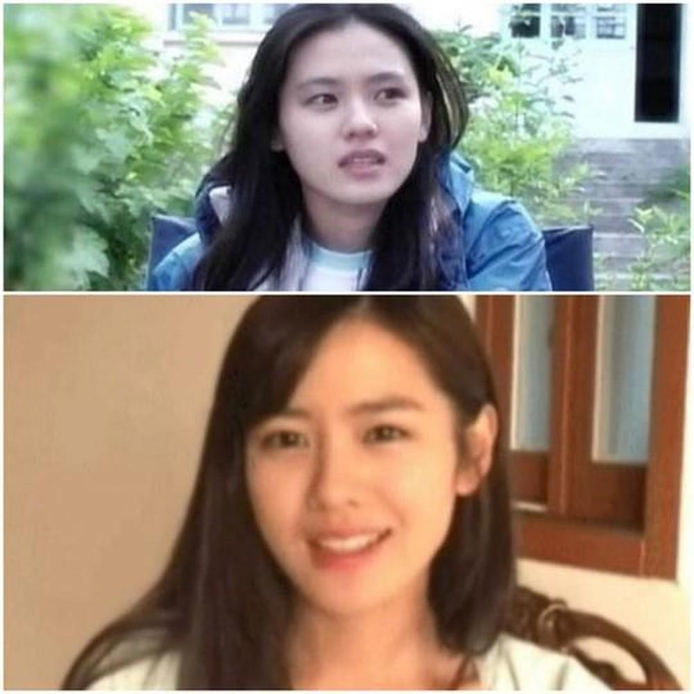Cặp mỹ nhân Song Hye Kyo - Son Ye Jin: Ai đẹp hơn khi gột sạch son phấn?-13
