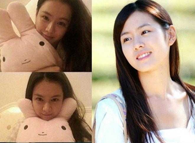 Cặp mỹ nhân Song Hye Kyo - Son Ye Jin: Ai đẹp hơn khi gột sạch son phấn?-14