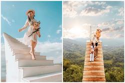 'Cầu thang vô cực' ở Đà Lạt lọt top 4 cầu thang 'sống ảo' đẹp nhất thế giới