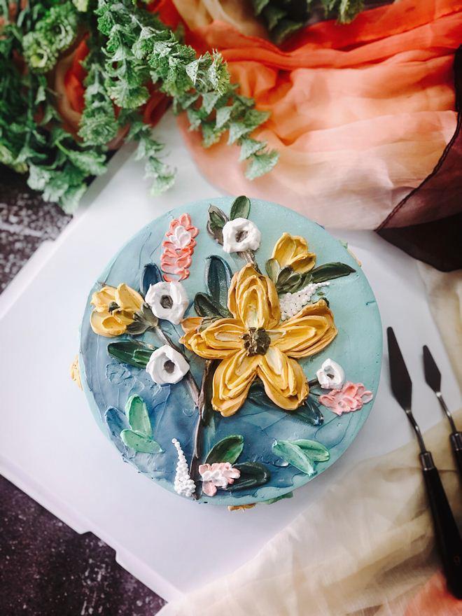 Bỏ kinh doanh đi bán bánh kem nghệ thuật, mẹ Hà Nội doanh thu 70 triệu/tháng-8