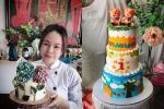 Bỏ kinh doanh đi bán bánh kem nghệ thuật, mẹ Hà Nội doanh thu 70 triệu/tháng