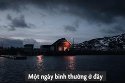 Cuộc sống cô độc với băng giá ở vòng Bắc Cực
