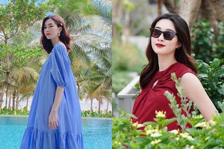 Hoa hậu Đặng Thu Thảo hạ sinh quý tử nặng 3.5kg cho chồng đại gia