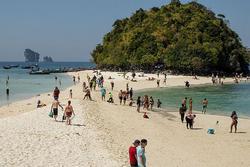 Hòn đảo nhiệt đới kỳ quái ở Thái Lan trông giống như một con gà