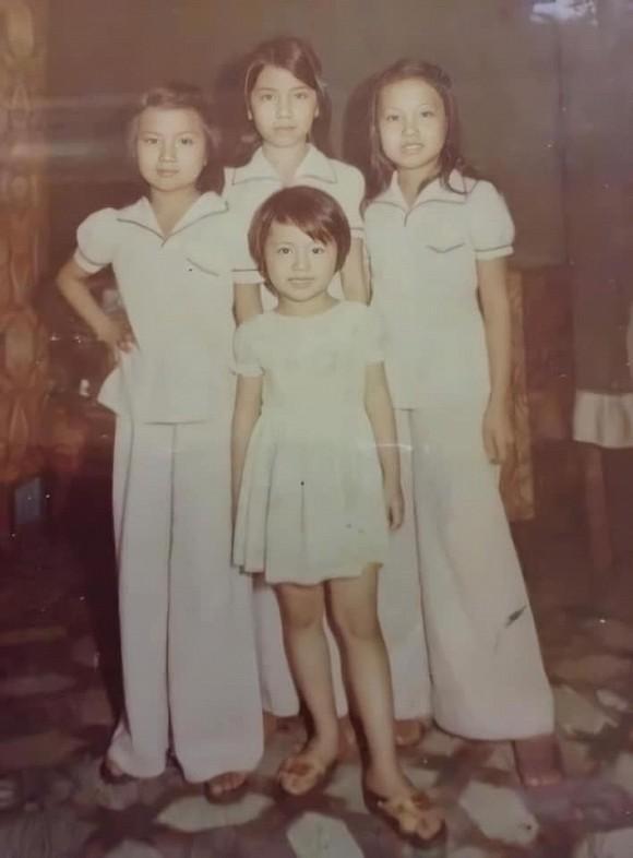 Ảnh hiếm khi bé của 3 chị em Cẩm Ly, Hà Phương và Minh Tuyết khiến ai cũng bất ngờ vì quá xuất chúng-1