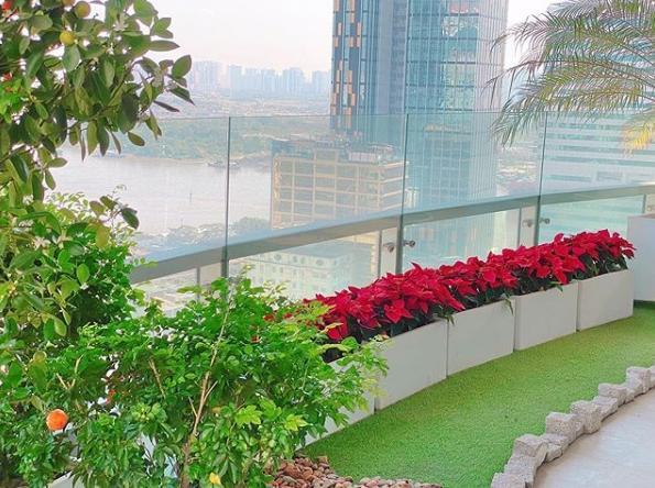 Cận cảnh từng góc tuyệt đẹp trong biệt thự của Hoa hậu Đặng Thu Thảo và ông xã thiếu gia-9