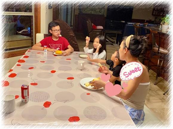 Hồng Ngọc đã ngồi ăn sáng cùng các con, thêm ảnh cận mặt cho thấy phục hồi cực nhanh-3