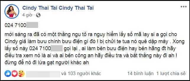 Cindy Thái Tài công khai số điện thoại kẻ lừa đảo chuyên nghiệp-1