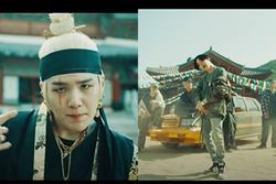 Suga (BTS) bất ngờ trở lại với MV 'Daechwita'