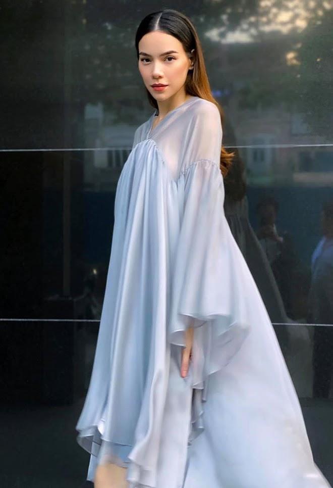 Giữa tin đồn bầu bí, Hồ Ngọc Hà còn vướng nghi vấn mặc váy nhái Taobao-2