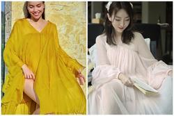 Giữa tin đồn bầu bí, Hồ Ngọc Hà còn vướng nghi vấn mặc váy nhái Taobao