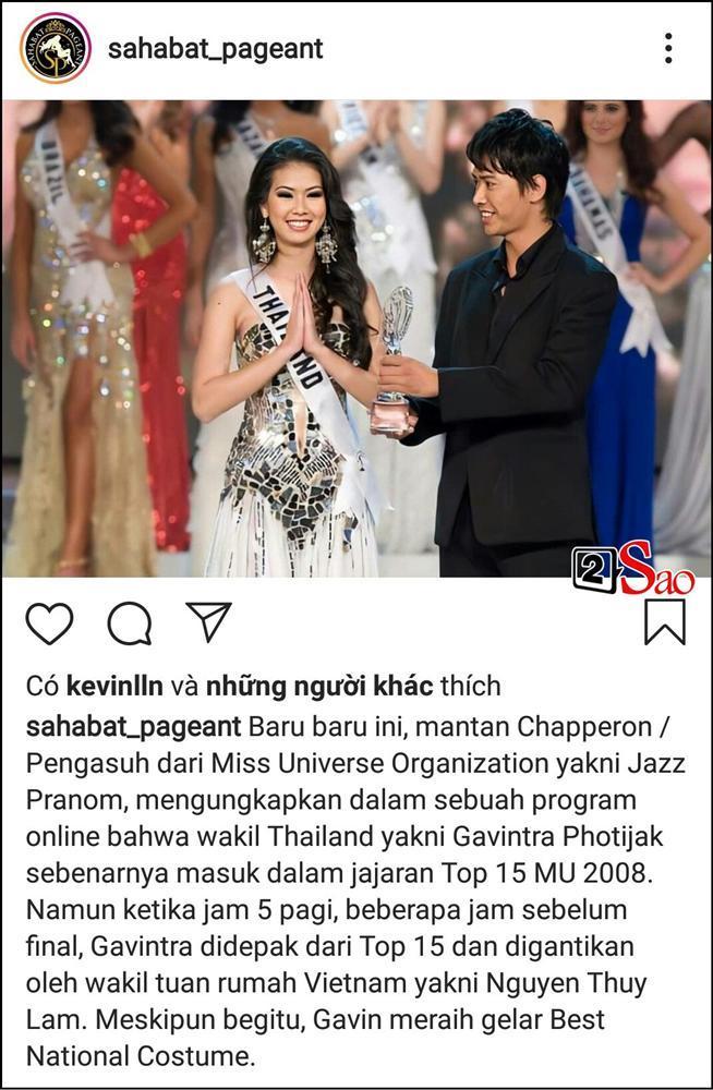 Thùy Lâm bỗng dưng bị phanh phui chuyện lọt top 15 Miss Universe do thiên vị, dân mạng Việt xù lông bảo vệ-1