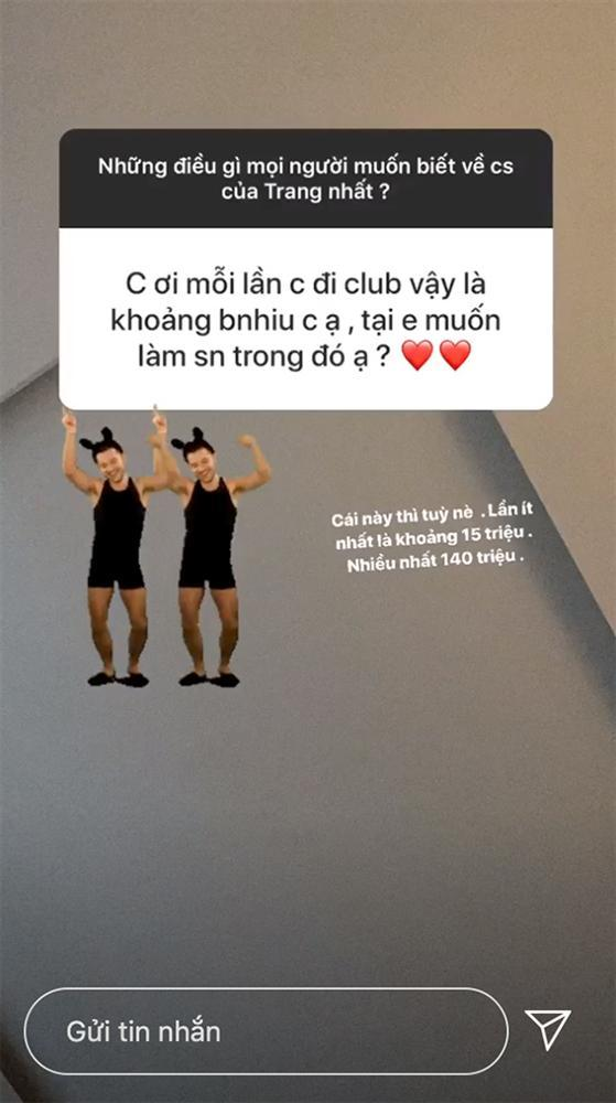 6 tháng sau scandal lộ ảnh nhạy cảm với bạn trai, Trang Anna tiết lộ chi tiền khủng đi bar-3