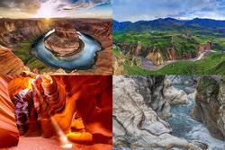 Chiêm ngưỡng những hẻm núi đẹp nhất trên Trái đất