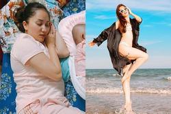 Công khai cân nặng 47kg, Khánh Thi gây ngỡ ngàng vì 'diệt mỡ' ngoạn mục sau sinh