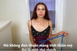 Nịt corset 20 giờ/ngày để có vòng eo 38 cm