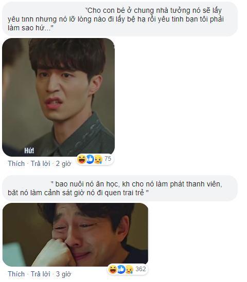 Bức ảnh Yêu Tinh và Thần Chết hộ tống Lee Min Ho giải cứu Kim Go Eun ở Quân Vương Bất Diệt là ảnh chế hot nhất hôm nay-4