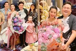 Dự sinh nhật bạn thân, Hồ Ngọc Hà dùng chiêu 'ngụy trang' quyết giấu song thai