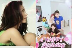 Trương Bá Chi đơn độc trong sinh nhật 40 tuổi