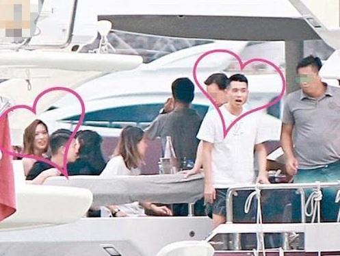 Hoa hậu Hong Kong hẹn hò thiếu gia sòng bạc trên du thuyền-1