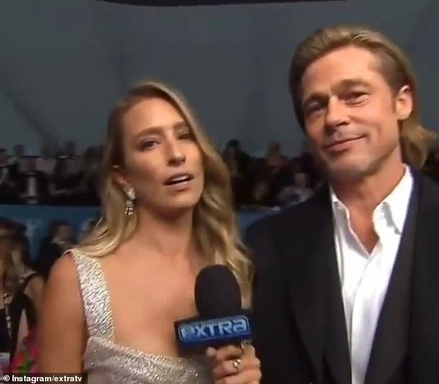 Brad Pitt đang hẹn hò nữ phóng viên người Australia-1