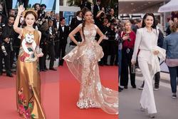 Các người đẹp Việt gây chú ý tại Cannes