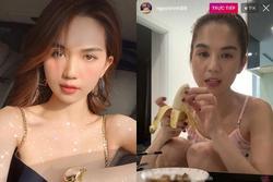 Ngọc Trinh để lộ thói quen ăn uống 'khác người' khi đang livestream nhưng nghe giải thích thì khá hợp lý: Hoá ra nhiều người cũng ăn kiểu này!