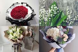 Chọn bó hoa thích nhất để biết bạn có bao nhiêu người yêu