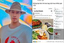 Hú hồn Lý Quí Khánh: Miệng nói bán đồ ăn online đắt khách, thực tế phải 'tag' tên từng người mời mua