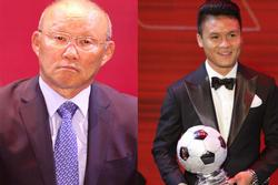 Phản ứng khó đỡ của Quang Hải khi HLV Park Hang Seo gợi ý 'nhường' quả bóng vàng cho đồng đội