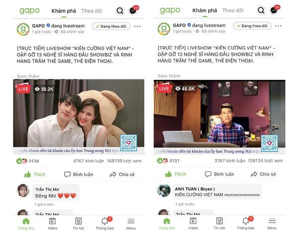 Khắc Việt livestream MV mới trên nền tảng mạng xã hội Việt-3
