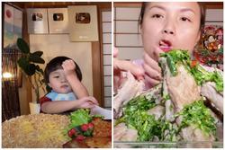Bất ngờ với 'hành động lạ' của bé Sa trong Vlog mới nhất của mẹ