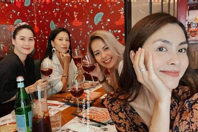 Tăng Thanh Hà mừng sinh nhật vợ Phạm Anh Khoa-1