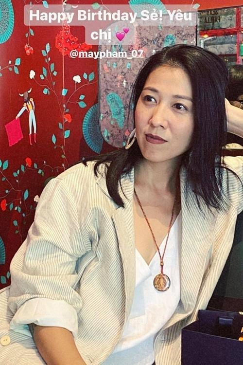 Tăng Thanh Hà mừng sinh nhật vợ Phạm Anh Khoa-2