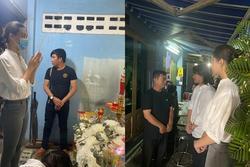 Hoa hậu Lương Thùy Linh viếng bé trai tử nạn do cây đè