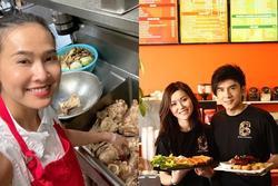 Nghệ sĩ Việt kinh doanh đồ ăn, thức uống ở Mỹ
