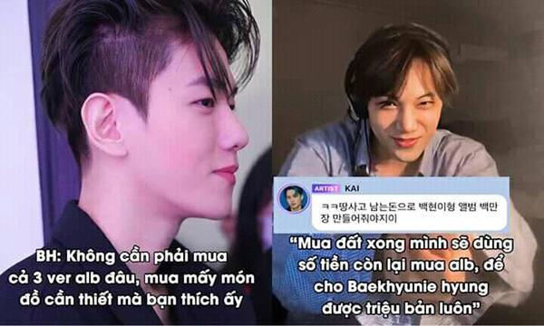 Kai hứa mua album, giúp Baekhyun đẩy doanh số lên 1 triệu bản nhưng điều kiện là phải làm được điều này-4