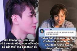 Kai hứa mua album, giúp Baekhyun đẩy doanh số lên 1 triệu bản nhưng điều kiện là phải làm được điều này