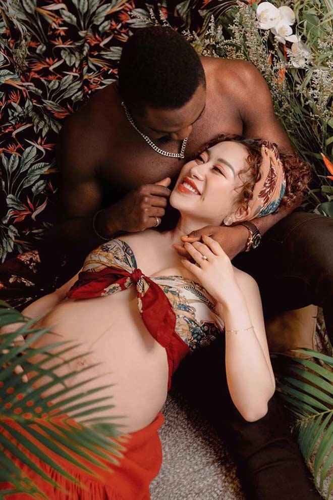 MXH Việt xôn xao cô gái Hà thành xinh đẹp lấy chồng châu Phi, em bé sinh ra mang gương mặt bất ngờ-2