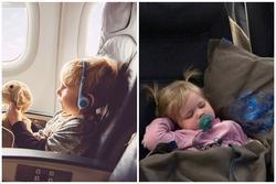 'Dắt túi' ngay những mẹo này là cha mẹ tự tin đi máy bay đường dài với con