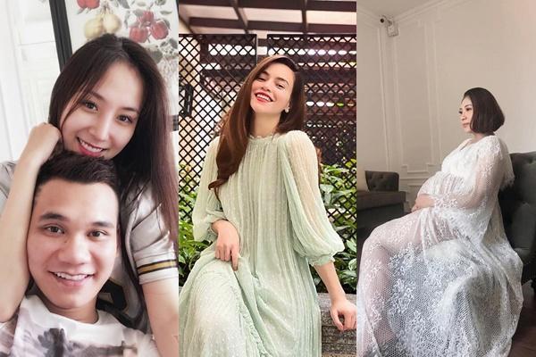 Đâu chỉ Hồ Ngọc Hà, showbiz Việt còn có 2 mỹ nhân mang thai đôi cùng thời điểm này