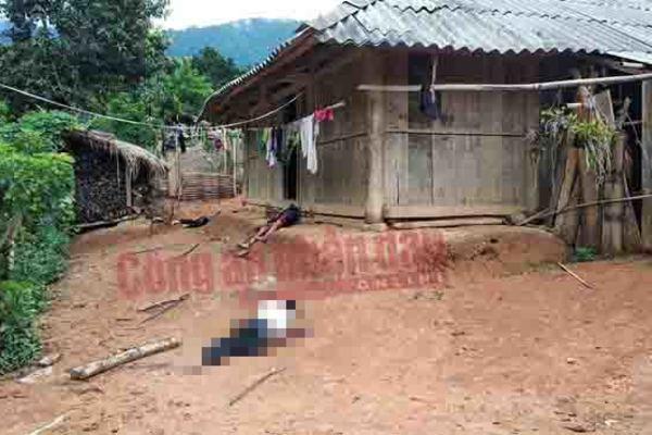 Nóng: Làm thiếu nữ 15 tuổi mang bầu, người đàn ông U60 vác dao chém chết 2 người rồi tự tử ở Điện Biên-1