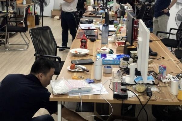 Phá đường dây đánh bạc 64.000 tỷ ở Hà Nội-1