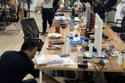 Phá đường dây đánh bạc 64.000 tỷ ở Hà Nội