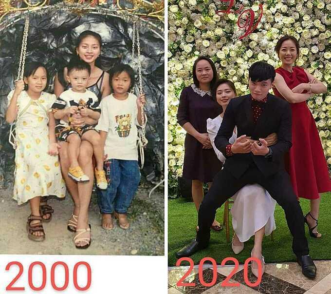 Nhan sắc Ngô Thanh Vân sau 20 năm-1