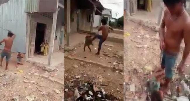 Sóc Trăng: Bố đẻ đánh đập dã man, đạp con gái 5 tuổi bay xa 2 mét chỉ vì tội đổ cát vào gạo-2