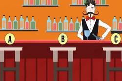 Bước vào quầy bar, chỗ ngồi mà bạn chọn sẽ chỉ ra bạn lí trí, có tố chất lãnh đạo hay quá chân thành đến nỗi bị người khác lợi dụng