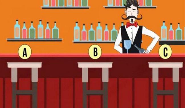 Bước vào quầy bar, chỗ ngồi mà bạn chọn sẽ chỉ ra bạn lí trí, có tố chất lãnh đạo hay quá chân thành đến nỗi bị người khác lợi dụng-1