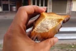 Trái dừa không có nước - đặc sản miền Tây Nam Bộ