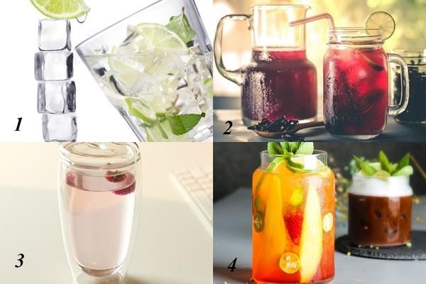 Chọn cốc nước sẽ uống khi khát để biết vận may nào đến với bạn trong tháng 6-1